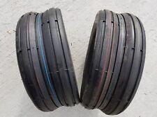 2 - 15x6.00-6 6 Ply Deestone D837 Rib Lawn Mower Tires PAIR 15x6.0-6 15/6.00-6 F