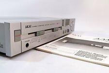 Akai AM-U1 Estéreo Amplificador Integrado + etapa de fono + Manual + Gratis Reino Unido Entrega