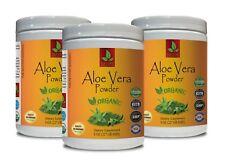 aloe vera drink - ORGANIC ALOE VERA POWDER - aloe vera juice powder - 3 Cans
