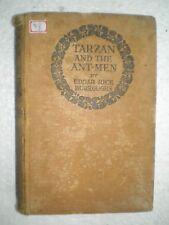 TARZAN AND THE ANT MEN-EDGAR RICE BURROUGHS RARE BOOK 1985