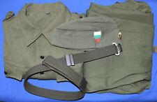Bulgarian Army Soldier Whole Summer BATTLE UNIFORM Coat, Pants, Cap & Belt