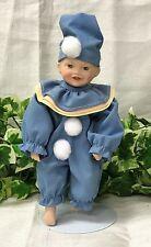 "Vintage Ashton Drake Miniature Clown Porcelain 'Perfect Babies' 7"" Jason Doll"