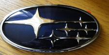 Subaru Impreza Blue STI Badge Boot badge Emblem rear tailgate Hawkeye 2006-2007