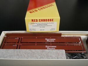 RED CABOOSE HO SCALE GENERAL SERVICE GONDOLA SP w/PLYWOOD EXTENSIONS NIB