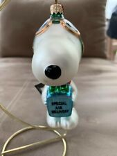 "Peanuts Snoopy Polonaise Ornament - ""Special Air Delivery"" -"