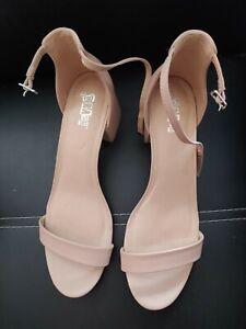 """New Women's Beige Brash 4.5"""" High Heels Shoe Size 12"""
