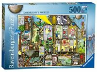Ravensburger Tomorrows World Jigsaw Puzzle 500 Pieces Game