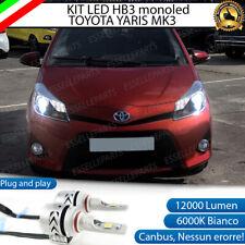 KIT LED HIR TOYOTA YARIS MK3 PRE-RESTYLING 6500K CANBUS 12000 LUMEN MONO LED