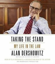 Taking The Stand, My Life In The Law - Alan Dershowitz Audio CD Book