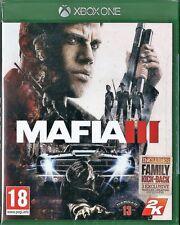 Xbox ONE Mafia III BRAND NEW VideoGames