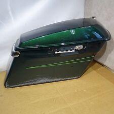 Harley Davidson Metallic Green Left Hard Bag = UP1076