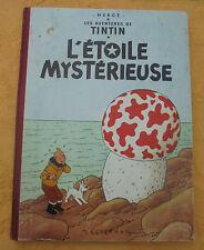 TINTIN  L'ETOILE MYSTERIEUSE  B31 1962  N3218