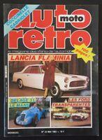 Revue AUTO RETRO n°33 1983 Delage 3L LE Mans  Lancia Flamina