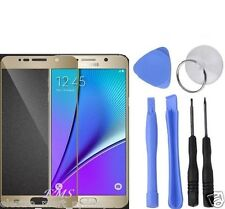 Gold Outer Replacement Screen Glass Lens Repair Tools For Samsung Galaxy Note 5