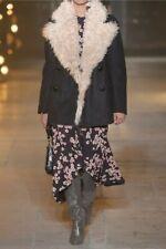 ISABEL MARANT: BRAND NEW Mongoliam Lamb/wollen BERIT winterjas, EU38 SALE