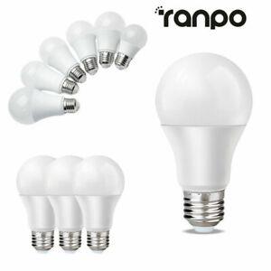 3W 5W - 18W 20W E27 Tornillo LED Globo Lámpara de Bombilla Luz Cool Warm White