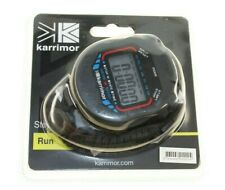 KARRIMOR SPORTS ATHLETICS STOP WATCH RUNNERS TIMER BLACK NEW GENUINE