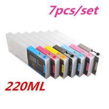 HOT! Ep son Stylus Pro 7600/9600 Refilling Cartridge 7pcs/set, with 4 Funnels