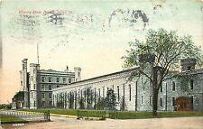 1907-1915 Postcard; Illinois State Prison, Joliet IL Will County, Posted