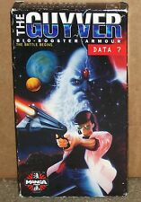 The Guyver Data 7 The Battle Begins (VHS Dubbed)