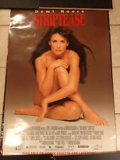 STRIPTEASE MOVIE POSTER. DEMI MOORE