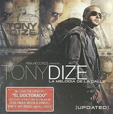 Melodia de La Calle [Updated Version] - Tony Dize (CD, 2009, Sony) FREE SHIPPING