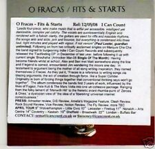 (G404) O Fracas, Fits & Starts - DJ CD
