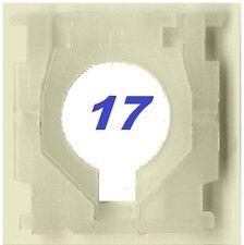 HP PAVILION DV2 DV2-1100 DV2-1000 KEYBOARD KEY CLIPS CLIP LATCH HINGE TYPE 17