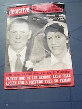 Détective 1965 1012 SAINT OUEN CUSSET OLORON SAINTE MARIE EYMOUTIERS NEDDE ARLON