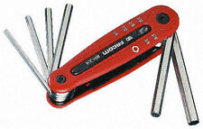 Facom Tools 86H.JE7A Folding Hex Allen Key Set 2.5mm - 10mm