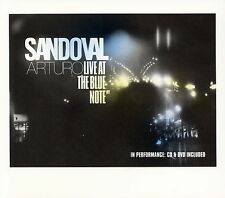 Arturo Sandoval - Live at the Blue Note (2 DISC SET: CD+DVD, 2005, Half Note)