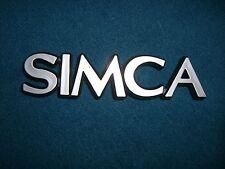 Emblem / Badge Simca, ca. 14 cm lang, 3 Befestigungsstifte Pins