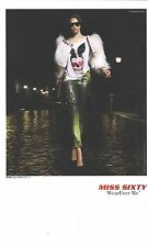 "PUBLICITE 2012  MISS SIXTY jeans "" WEAREVER Me"" coll HIVER"