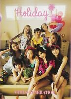 Girls Generation SNSD Japan 1st Official Photo Book Holiday Photobook