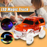 LED Electric Car Toy For Magic Race Track Flashing Light Educational Kids