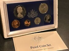 1978 Royal Australian Mint - Silver Jubilee Commemorative - 6 Coin Proof Set