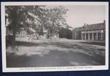 New Womans Dormitories University of North Carolina Chapel Hill Early Chrome