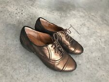 Clark's Indigo Gold Womens Oxfords Shoes SZ 6M 6 M B Oxford Lace Up Flats