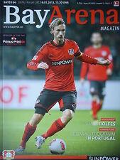 Programm 2012/13 Bayer 04 Leverkusen - Eintracht Frankfurt