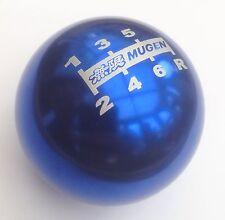 NEW GENUINE BLUE MUGEN 6 SPEED GEAR SHIFT KNOB CIVIC TYPE R S2000 ACCORD JAZZ