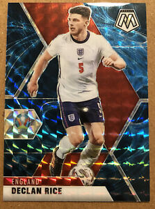 Declan Rice 2020 Panini Mosaic Genesis SSP SP UEFA Euro England