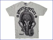 New Yoga Men T Shirt Buddha tattoo Lotus India OM Ganesha God XL online buy Sure