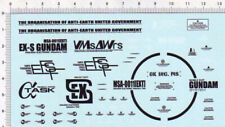 Gundam decals  1/35 MSA-0011 Ex-S HEAD  866