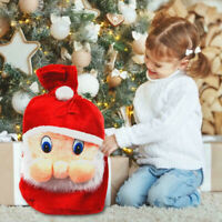 Christmas Kids Gift Candy Bags Santa Claus Storage Bag Large Drawstring Pouches