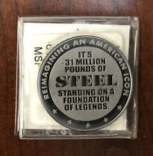 NASCAR Daytona International Speedway Collectors 39mm Solid Steel Coin 500