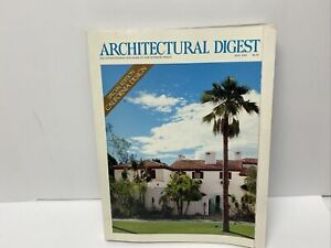 Architectural Digest May 1989 Special Edition California Design