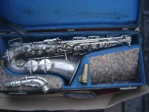 CA Wunderlich Max Keilwerth Pure Tone Alt Saxophone