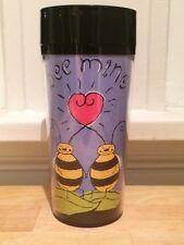 Starbucks Coffee Bee Mine Valentines Day Sweetheart Travel Tumbler Mug 12oz