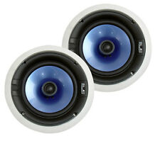 "Pair PIC8E 300 Watt High End  8"" Two-Way In-ceiling Speaker System"