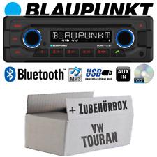 Blaupunkt Radio für VW Touran Autoradio Bluetooth CD MP3 USB Einbauzubehör/-set